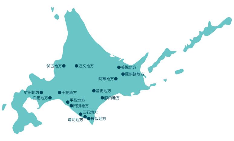 衣服の地域差マップ